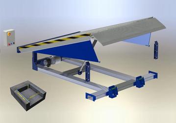 Vendita carrelli elevatori toyota for Rampe di carico per auto